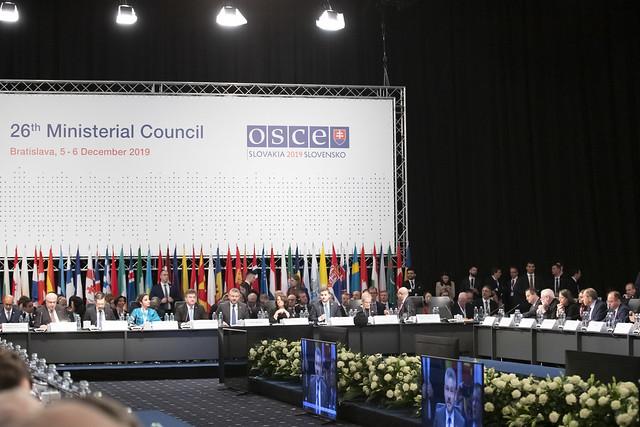 5 декабря 2019 Участие в 26-м заседании СМИД ОБСЕ