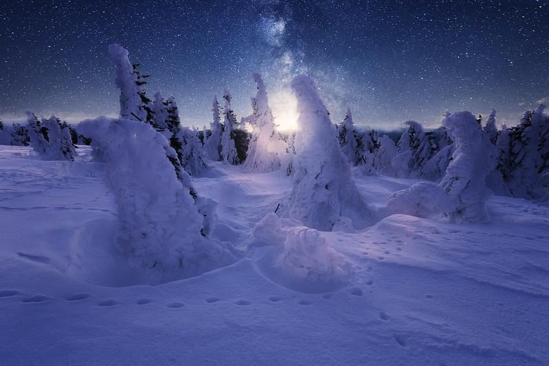 Winterlandschaft Brocken