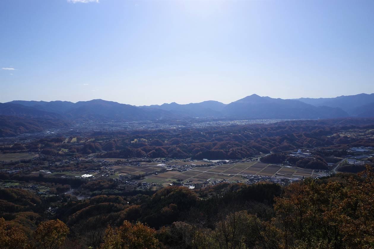破風山山頂からの展望
