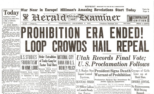 Prohibition Repealed!