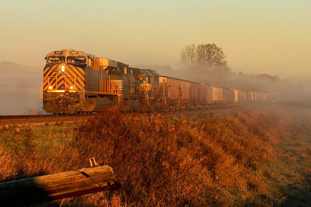 Wisconsin's Autumn Fog
