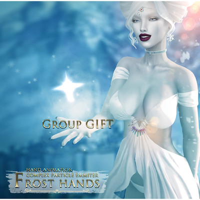 -Elemental- 'Frost Hands' Effect - Group Gift