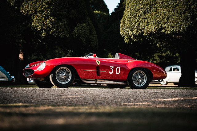 1954 Ferrari 500 Mondial at the 2019 Concours of Elegance at Hampton Court Palace