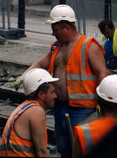 Hairy Construction Workers