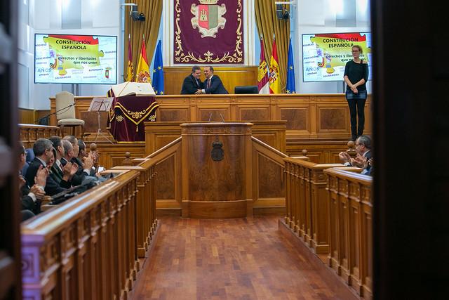 Acto institucional 41 aniversario de la Constitución Española