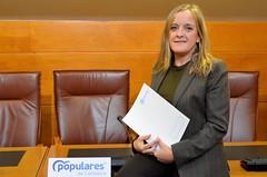 Rueda de prensa de Isabel Urrutia