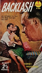 Backlash - Digit Book - No 380 - Sidney Weissman - 1960