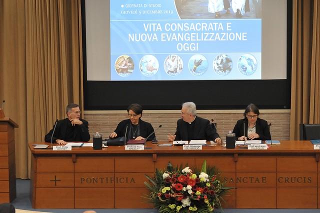 """Giornata di studio su """"Vita Consacrata e Nuova Evangelizzazione oggi"""""""