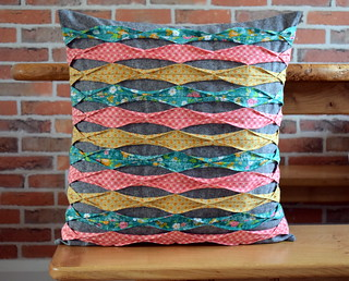Cushion with Tucks (class sample) | by Just Jude Designs