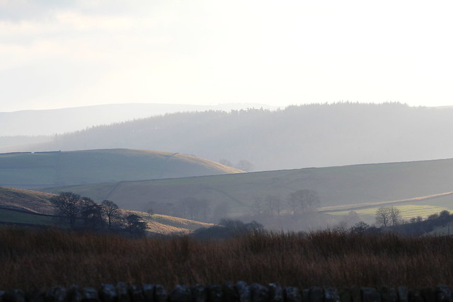 Late evening view from Grimwith Reservoir.