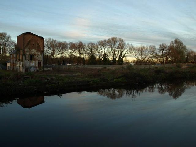 Dusk Over Walton Mill