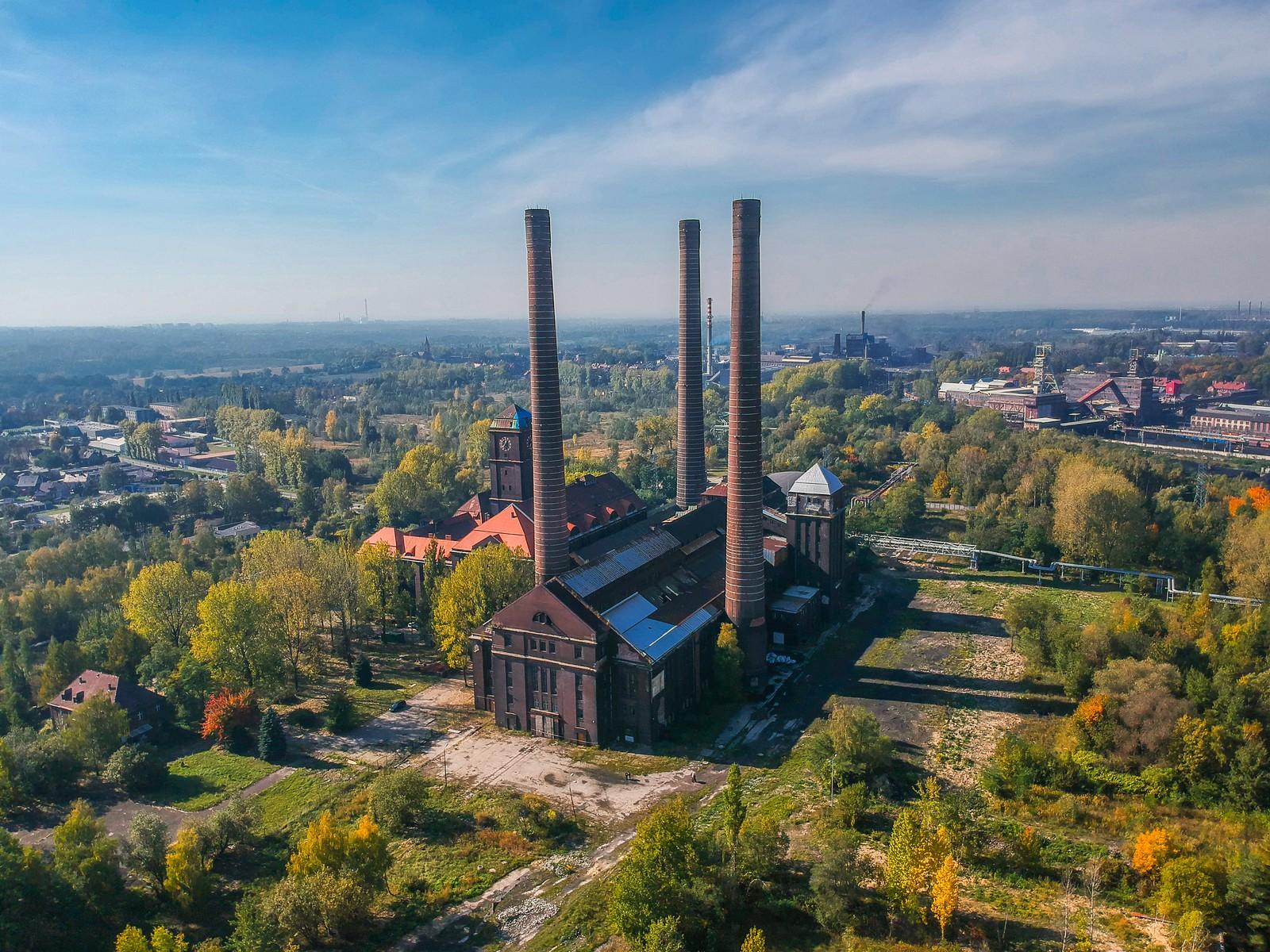 Szombierki Power Plant, Bytom, POLAND