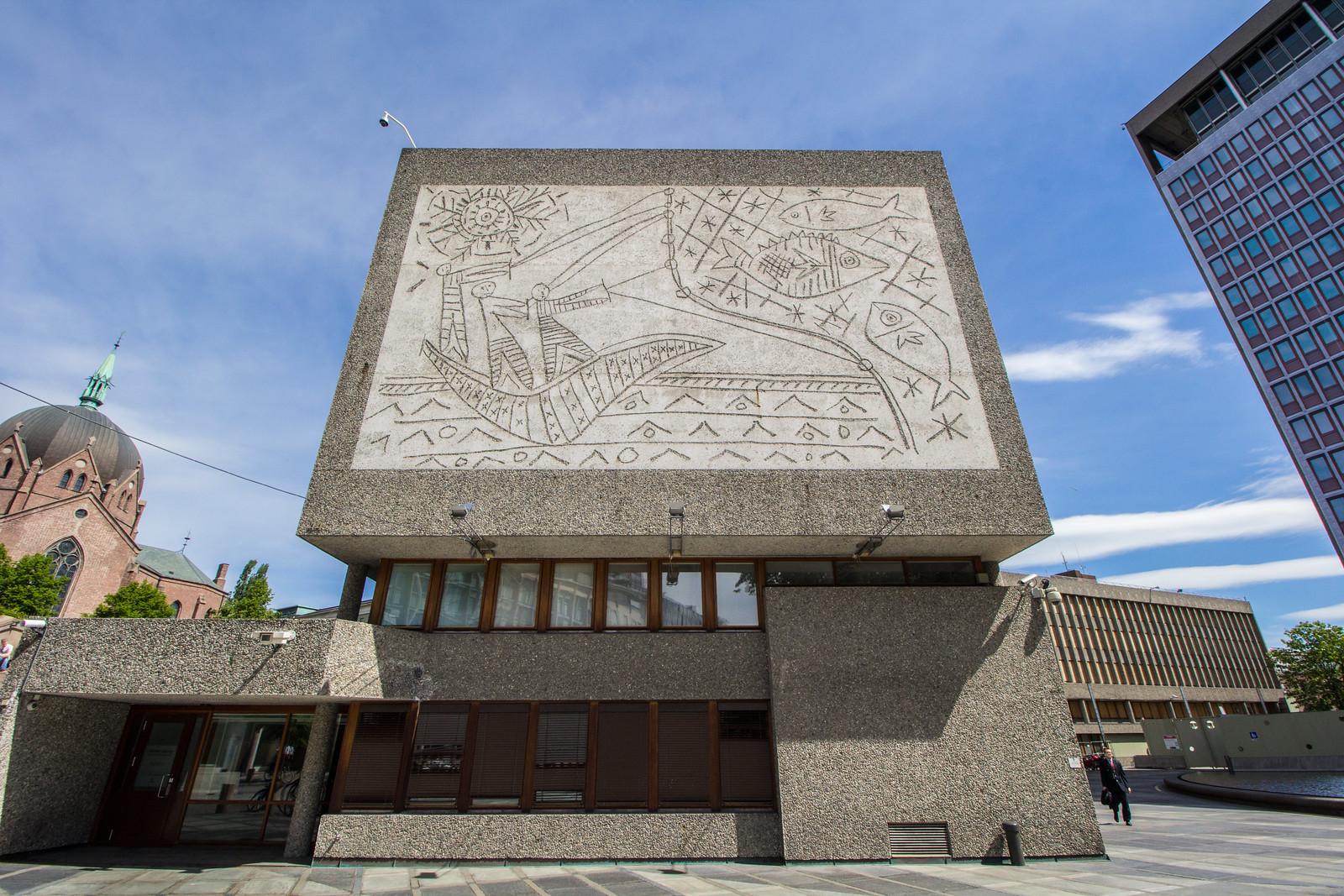 Y-block, Government Quarter, Oslo, NORWAY