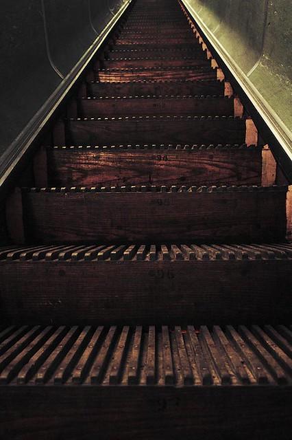 Escalator - Tyne pedestrian tunnel
