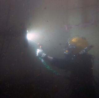 welding underwater augusta