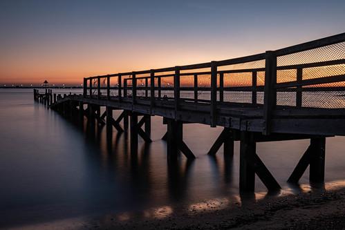 essex southend pier sunset river riverthames longexposure fujixt3 daveknight