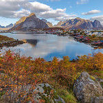 2. Oktoober 2019 - 19:32 - Reine, a very picturesque Norwegian village on the Lofoten archipelago.