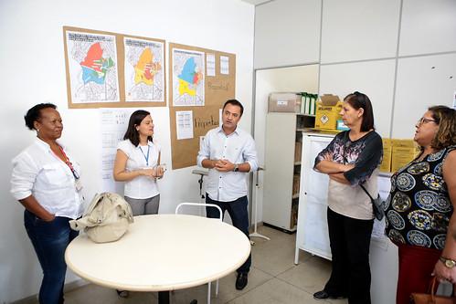 Visita técnica veriguar as condições de funcionamento do Centro de Saúde Bairro Califórnia - Comissão de Saúde e Saneamento