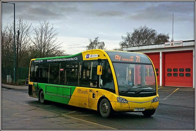 Nottingham City Transport 362