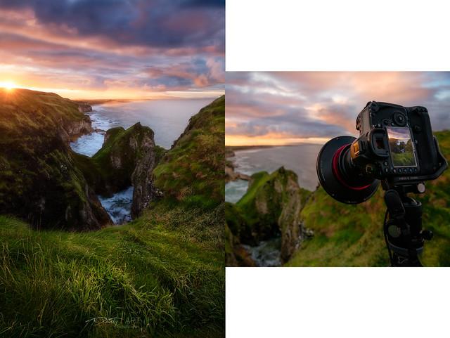 Irish Coast with WonderPana XL
