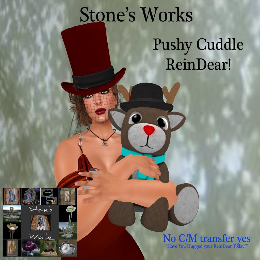 Cuddle ReinDear Plushy