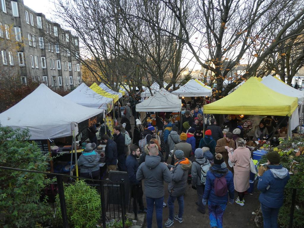 Sunday Market, Stockbridge, Edinburgh