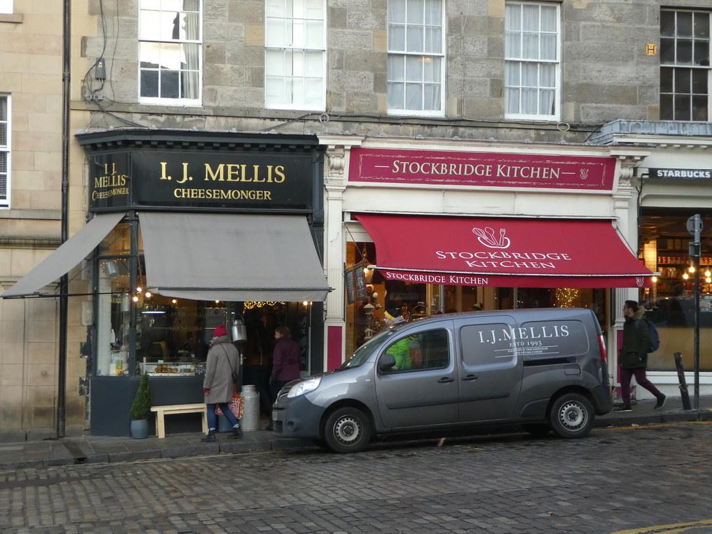 Mellis Cheesemonger Stockbridge Edinburgh