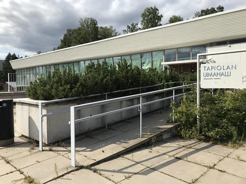 Tapiola Swimming Hall, Espoo, FINLAND