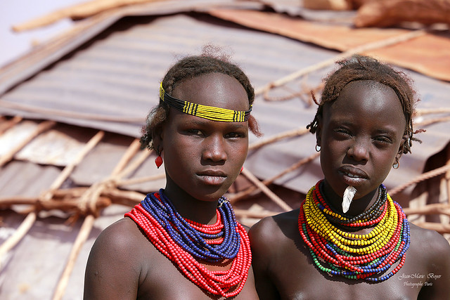 Dassanechs , Omo Valley Ethiopie