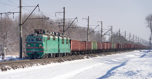 Kazakhstan Railways: coal train