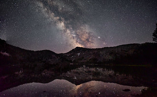 Sawtooths Milky way