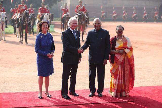 Staatsbezoek Zweden aan India (2019)cember 2019 besöker Kungen och Drottningen Indien på inbjudan av president Ram Nath Kovind.