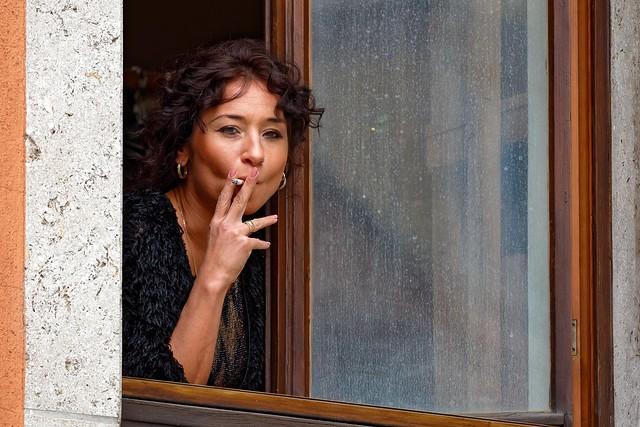 Under your Window | The Cigarette Break