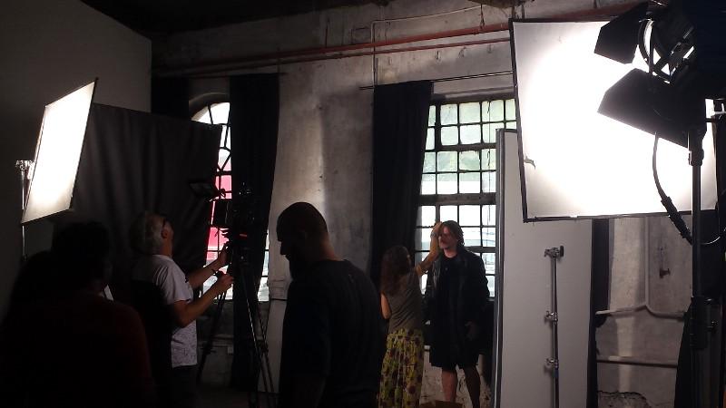 Filming videoclip