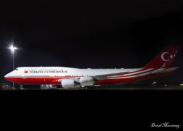 Turkish Government 747-8 BBJ TC-TRK