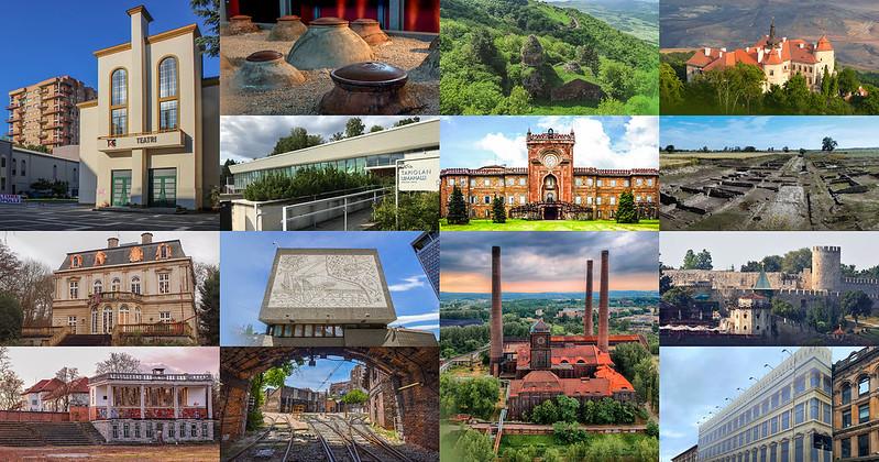14 European heritage sites shortlisted for 7 Most Endangered programme 2019
