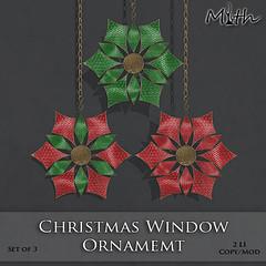 Christmas Window Ornament Ad