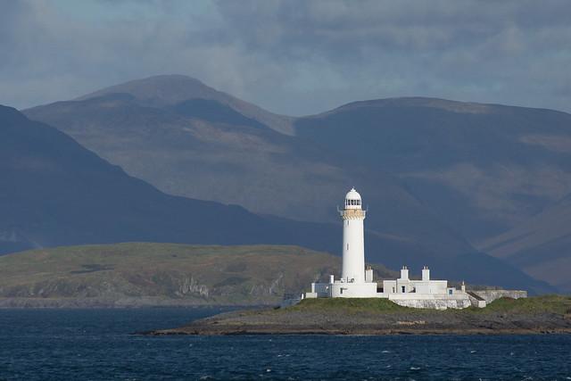 Lighthouse on Eilean Musdile