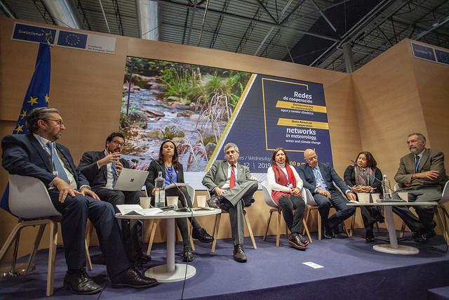 Redes de cooperación iberoamericana en meteorología, agua y cambio climático