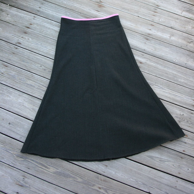 Alabama Chanin Long Skirt, New England Style
