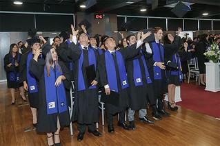 La USIL, enfocada en formar a sus alumnos con los más altos estándares internacionales, celebró las graduaciones de los estudiantes del programa de Doble Grado del periodo 2019-01, pertenecientes a las modalidades Bachelor in Arts y Associate in Arts.