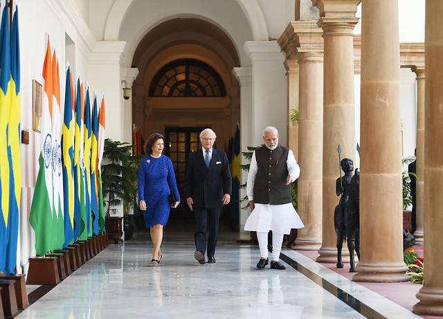 Staatsbezoek Zweden aan India (2019)