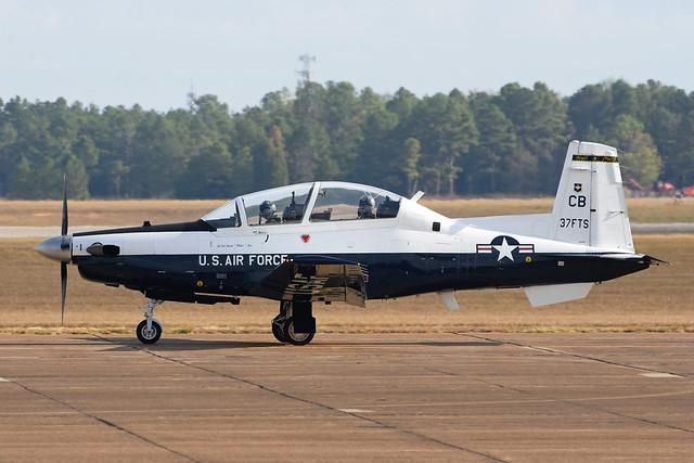 06-3837 Beech T6B Texan II KCBM 07-11-16
