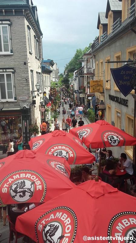 Vieux Quebec Rue du Petit-Champlain 2