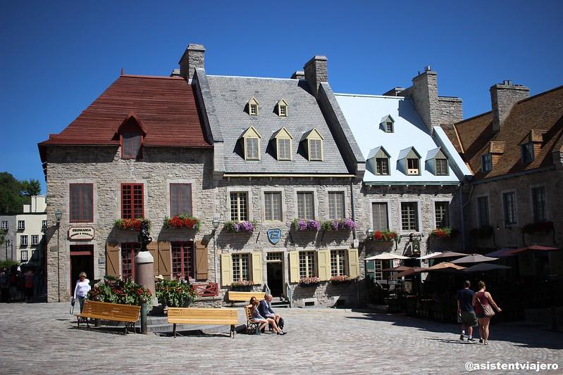 Vieux Quebec Place Royale 1