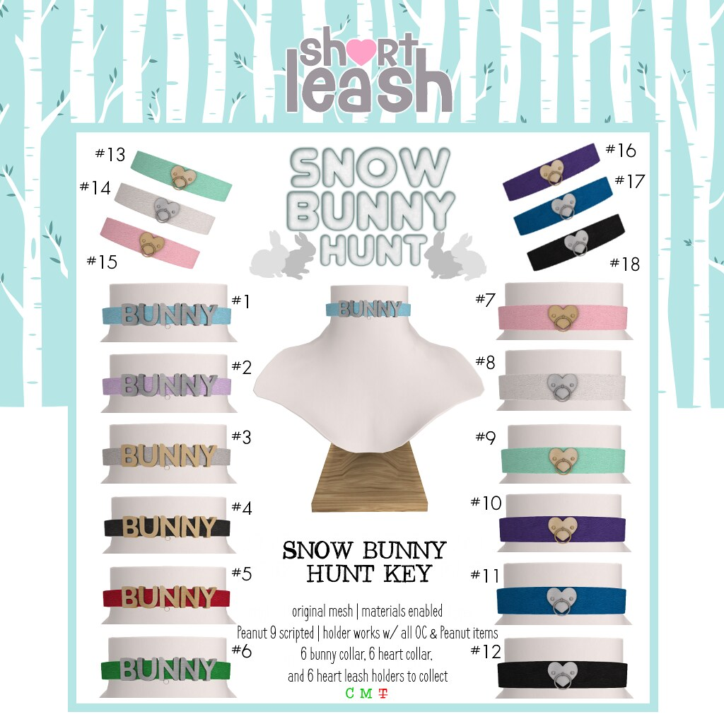 .:Short Leash:. Snow Bunny Hunt 2019 Key
