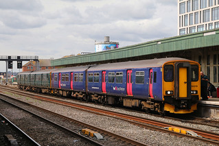 150219 & 150261, Cardiff Central, August 30th 2018