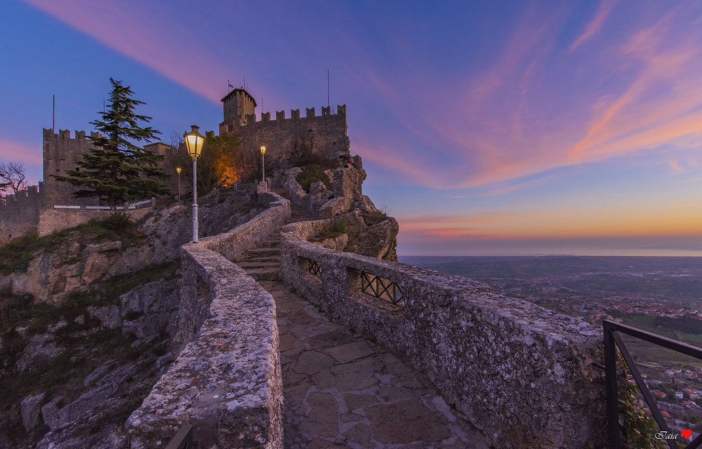 Sunrise to San Marino