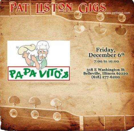 Pat Liston 12-6-19