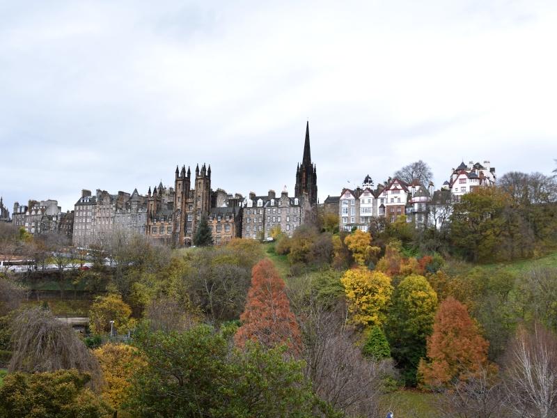 Edinburgh in the Fall